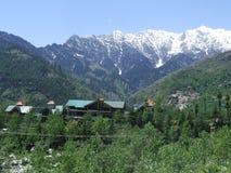 красивейшее село manali Стоковое Изображение RF