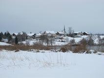 Красивейшее село Seegraeben Стоковое фото RF