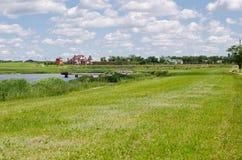 красивейшее село дома Стоковые Фотографии RF