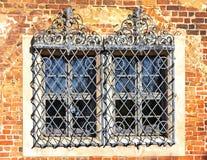 красивейшее старое окно Стоковое Изображение