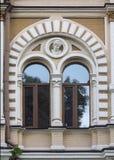 красивейшее старое окно стоковые изображения rf