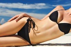 красивейшее тело Стоковая Фотография