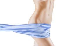 Красивейшее тонкое тело womans Стоковое Фото