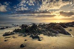 Красивейшее светлое место Seascape Стоковые Фотографии RF