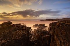 Сногсшибательное место берега моря Стоковое Изображение