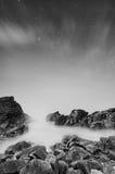 Изумительный seashore на ноче Стоковые Фотографии RF