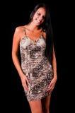 красивейшее цветастое платье предназначенное для подростков Стоковые Изображения