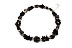 красивейшее черное ожерелье Стоковая Фотография RF