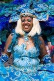 красивейшее carnaval лето девушки Стоковое Изображение