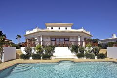 красивейшее countryhouse Португалия стоковые фотографии rf