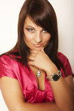 красивейшее glamor девушки стоковая фотография rf