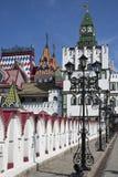 красивейшее izmailovo kremlin стоковая фотография