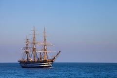 красивейшее masted море 3 парусника Стоковая Фотография RF