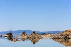 красивейшее Mono озеро в Калифорния стоковые фото