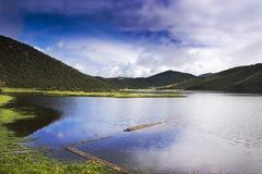 красивейшее shangri озера la Стоковые Изображения