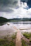 красивейшее shangri озера la Стоковая Фотография
