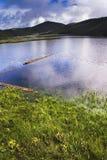 красивейшее shangri озера la Стоковое Фото