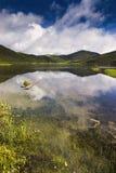 красивейшее shangri озера la Стоковые Фотографии RF