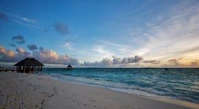 красивейшее sunse пейзажа Стоковое Изображение RF