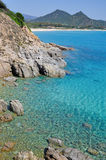 красивейшее villasimius моря Стоковое фото RF