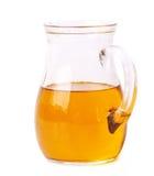 красивейшей одетьнные бутылкой специи оливки масла Стоковое фото RF