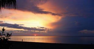 красивейше над восходом солнца моря стоковое изображение