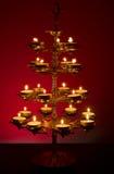 красивейше освещенный светильник Стоковые Фотографии RF