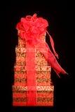 красивейше подарок на рождество обернул Стоковое Изображение RF