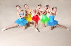 Красивейшие артисти балета Стоковое Изображение