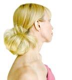 красивейшие белокурые волосы 2 Стоковая Фотография