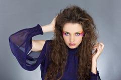 красивейшие волосы девушки длиной Стоковая Фотография