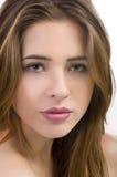 красивейшие волосы девушки Стоковое Фото