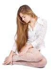 красивейшие волосы длиной стоковые изображения