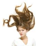 красивейшие волосы стоковая фотография