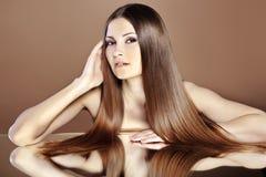 красивейшие волосы Стоковое Изображение RF