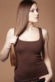 Красивейшие волосы Стоковая Фотография RF