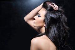 красивейшие волосы здоровые Стоковое Изображение RF