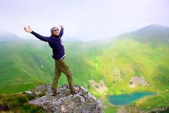 красивейшие горы ландшафта Стоковое фото RF