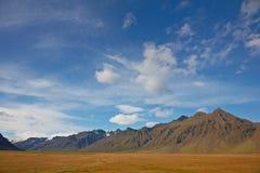 красивейшие горы облаков сверх Стоковая Фотография RF
