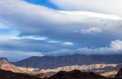 красивейшие горы Стоковое фото RF