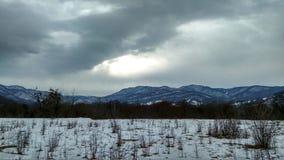красивейшие горы Стоковое Изображение RF