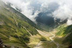 красивейшие горы fagaras Стоковые Изображения