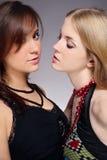 красивейшие девушки 2 Стоковое Изображение RF