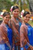 Красивейшие девушки malay Стоковое Изображение RF