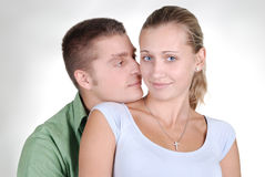красивейшие детеныши влюбленности пар стоковая фотография rf