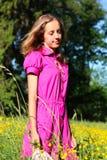 красивейшие детеныши женщины сновидений Стоковая Фотография RF