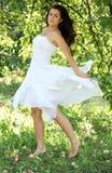 красивейшие детеныши женщины танцы Стоковая Фотография
