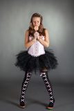 красивейшие детеныши партии девушки costume Стоковые Фото