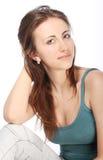 красивейшие детеныши портрета девушки Стоковые Фото