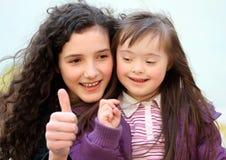 красивейшие детеныши портрета девушок Стоковая Фотография RF